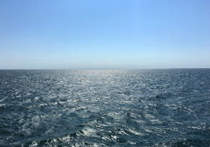Love the feeling of endlessness that the ferry ride gives!