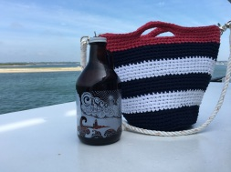 And would it really be a trip to Nantucket without Cisco on the boat home? Loved the new cranberry cider... And my maddy&me bag :)